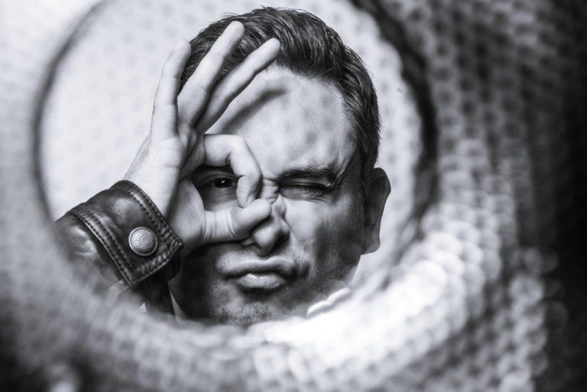 SW Selbst-Portrait Florian Eckert