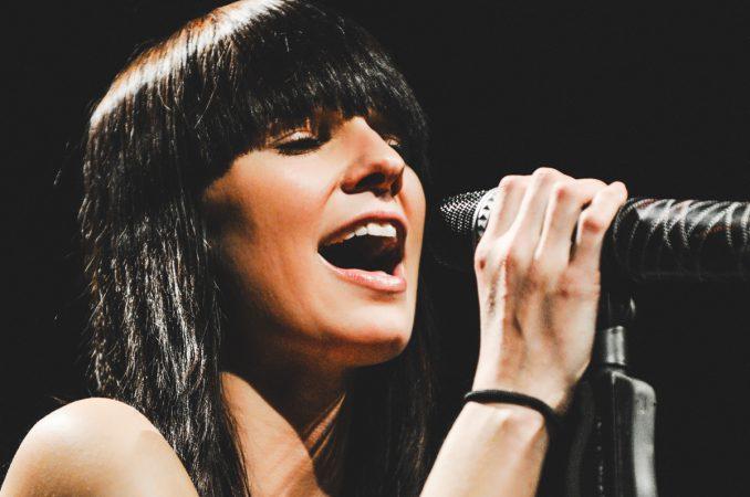 Christina Stürmer Star Musikerin Konzert