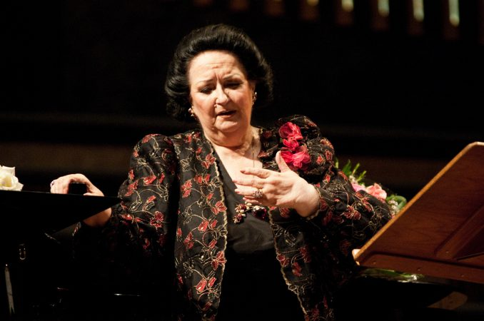Montserrat Caballe Classic Konzert Frau Star Musikerin