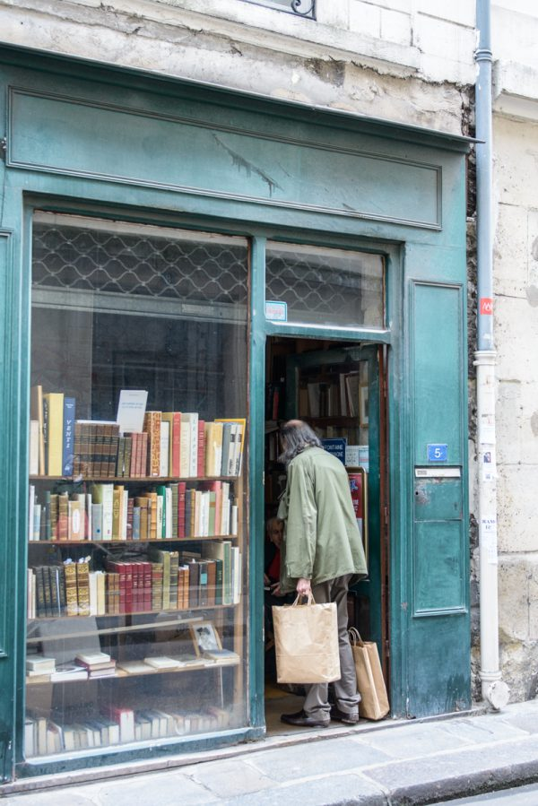 Buchhandlung in Paris