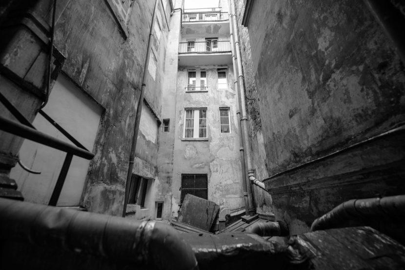 Pariser Hinterhof