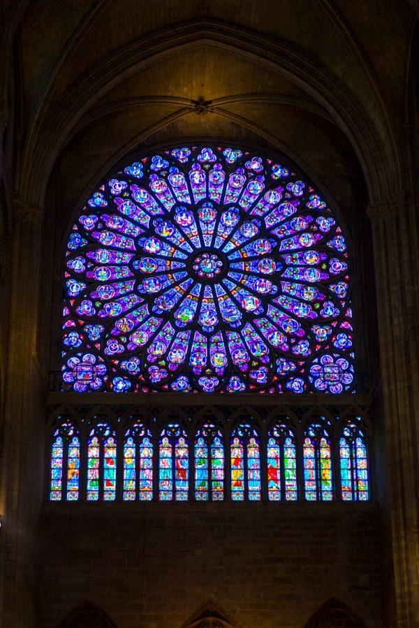 Notre Dame Fensterrosette