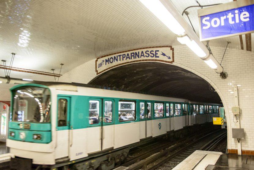 Metro Montpanasse