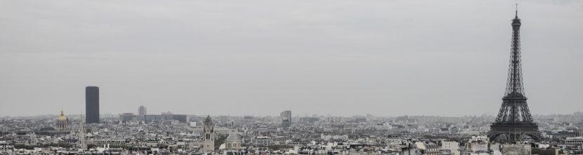 Paris Panorama mit Eifelturm