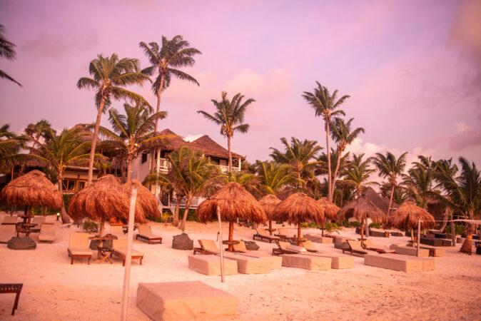 Karibik Sonnenaufgang